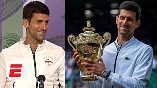 Novak Djokovic: When crowd chanted 'Roger' I heard 'Novak' | 2019 Wimbledon