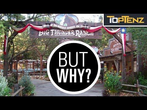 10 Disney Theme Park Attractions That No Longer Exist