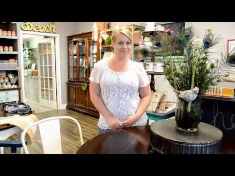 DIY Furniture Painting - How to Chalk Paint A Table from Start to Finish