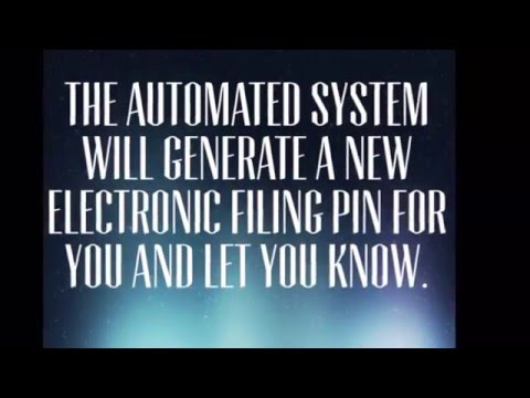 How to get Electronic Filing PIN from IRS - Call 1 866 704 7388