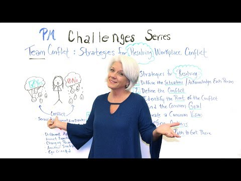 PM Challenges: Workplace Conflict - Project Management Training
