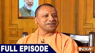 UP CM Yogi Adityanath in Aap Ki Adalat (2018)   Samvaad on 1 Year of Uttar Pradesh Govt