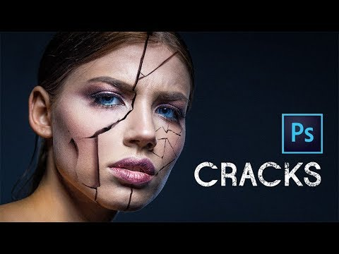 How to Make Cracked Skin or Anything Else | Photoshop Tutorial