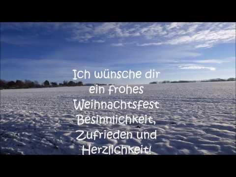 Frohe Weihnachten Gruß Weihnachtsgruß Video und guten Rutsch ins neue Jahr Gruß Weihnachtsgrüße