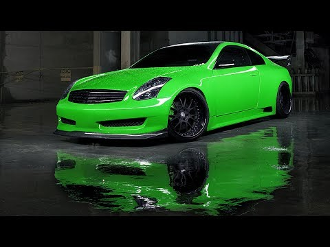 Infiniti G35 Wide Body Coupe Build Project