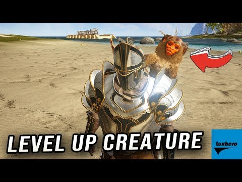 Atlas - How to Level Up Tamed Creature