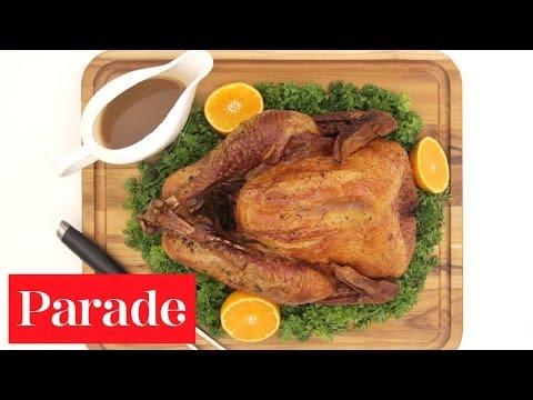 Kitchen Secrets Stop-Motion -Tricks to Make a Juicy Roast Turkey