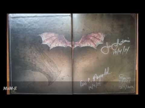 Smaug: Unleashing The Dragon - Signing By Joe Letteri, Myriam Catrin And Eric Reynolds