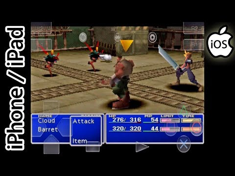 Final Fantasy VII | Happy Chick Emulator | iPhone / iPad / iOS [1080p] | Sony PS1/PSX