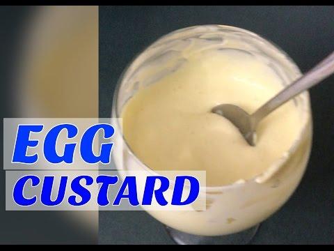 HOW TO MAKE EGG CUSTARD