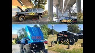 HOW MUCH $ I'VE MADE OFF MY VEHICLES WITH YOUTUBE! INSANE!!!