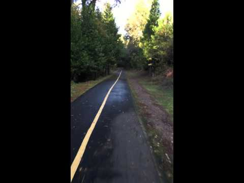 Electric Unicycle (TG F3) Riding the El Dorado Bike & Walking Trail Pt 3