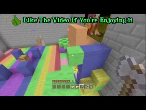 Minecraft Xbox 360 Hunger Games #4 -  Playing Toycats Hunger Game Map