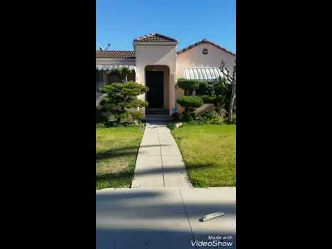 Victoria Ave, Los Angeles, CA 90016-BEFORE VIDEO