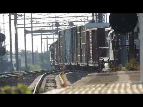 (HD) Catching My First Frieght Train! Norfolk Southern @ Lancaster, PA