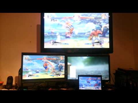 Steam in-home streaming beta - Super Street Fighter 4 AE