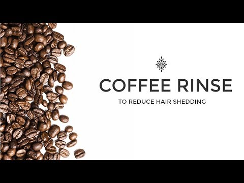 HOW TO: COFFEE RINSE TO REDUCE HAIR SHEDDING | DISCOCURLSTV