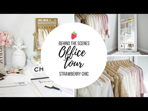 Office Tour + What's On My Clothing Rack