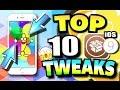 TOP 10 BEST iOS 9 - 9.3.3 TWEAKS for iPhone, iPad, and iPod Touch (Cydia Tweaks - PanGu Jailbreak)