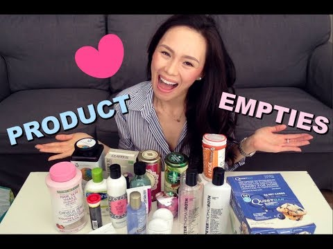 Product Empties |  Youtheory Collagen, Peter Thomas Roth, Clarisonic, Shiseido + More!