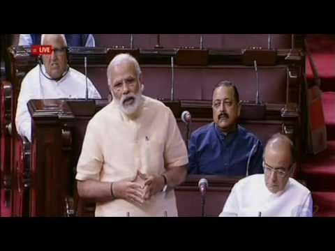 PM Narendra Modi makes farewell speech for retiring MPs in Rajya Sabha