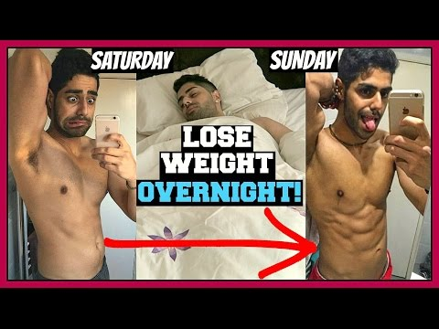 How To Lose Weight OVERNIGHT Fast ( FOR TEENAGERS & KIDS )