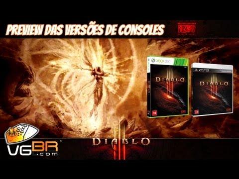 Gameplay de Diablo III nos consoles - Comparação das versões PS3 e Xbox 360