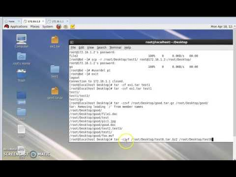 How to zip and unzip in linux server part 2