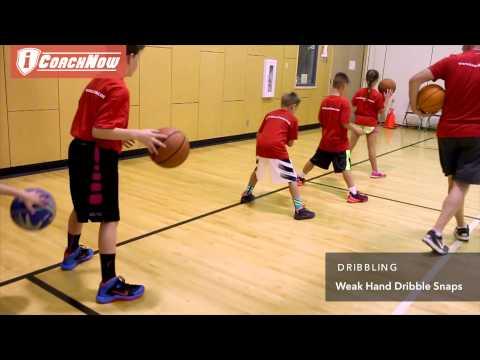 Dribbling - Weak Hand Dribble Snaps