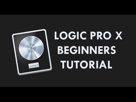 Logic Pro X Beginners Tutorial - An Introduction to Music Production in Logic Pro X
