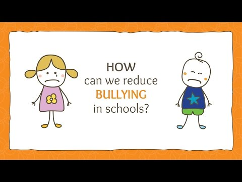 How do we stop bullying in schools?