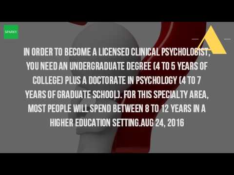 How Long Does It Take To Get A Masters Degree In Psychology?