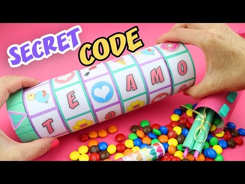 MAKE A GIFT WITH A SECRET CODE TO OPEN IT - CRIPTEX Mother´s Day | aPasos Crafts DIY