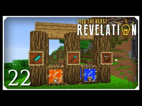 How To Play FTB Revelation | Chisels & Bits Mod! | E22 Modded Minecraft For Beginners