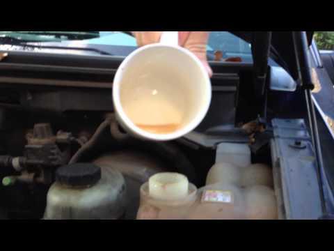 Car Radiator Flushing and Engine Coolant Testing