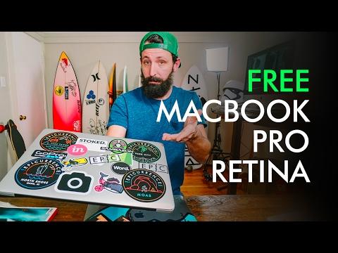 FREE MacBook Pro Retina plus software —take it