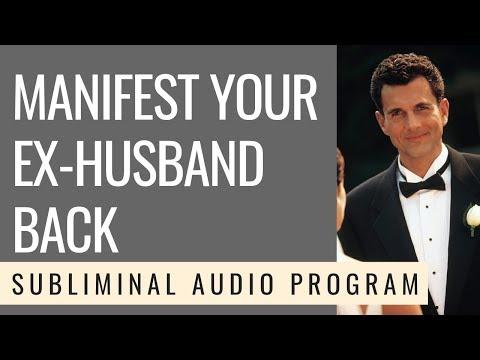 [Subliminal Messages] - Manifest Your Ex-Husband Back - 528Hz - Spark Joy Studio