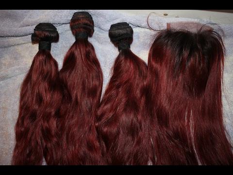HOW TO: BLEACH & DYE YOUR HAIR!! ( MEDIUM/DARK RED BLONDE)