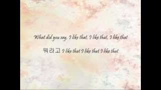 GLAM - I Like That [Han & Eng]