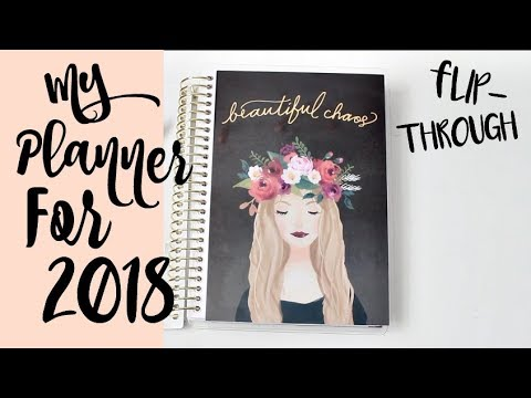 My 2018 Planner! Recollections Mini Agenda