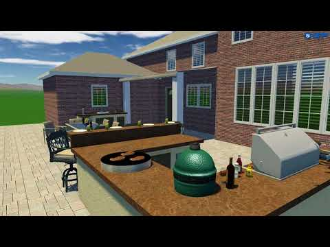 3D Design by The OutDoor Kitchen Design Store