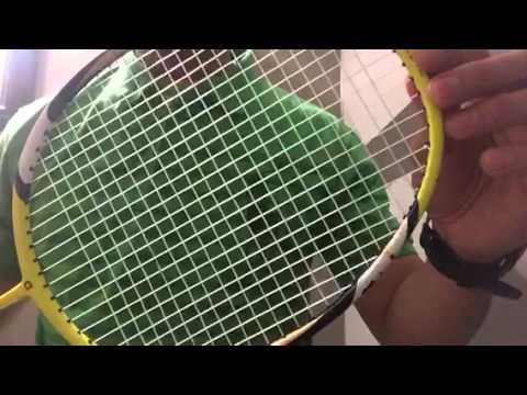 Apacs Badminton Racket @ 28 lbs x 31 lbs tension