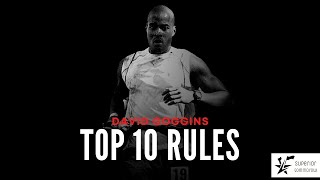 """David Goggins - """"Find out who you really are.""""   Top 10 Rules"""