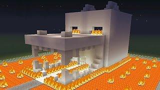 Videos de como hacer casas en minecruasf for Casa moderna lyna