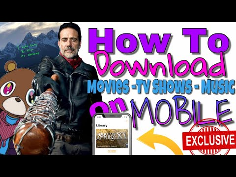 How to download UNLIMITED MUSIC / MOVIES / TV SHOWS on iOS *iphone/ipod/ipad*