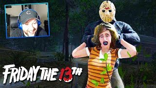 Friday The 13th w/ HORRIBLE TEAMMATES....