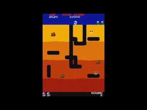 Hugbox Arcade April - Dig Dug