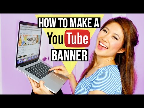 How to Make a YouTube Banner | FashionbyAlly