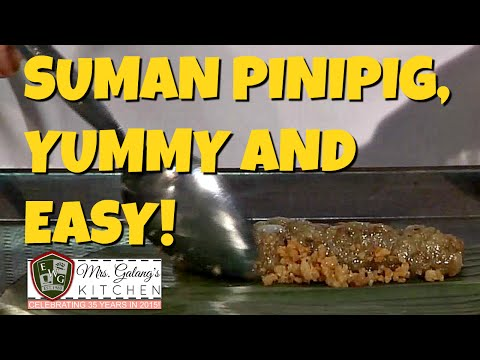 SUMAN PINIPIG (Mrs. Galang's Kitchen S4 Ep6)