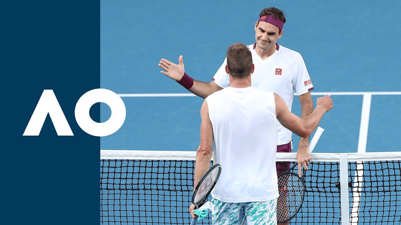 Roger Federer vs Tennys Sandgren - Extended Highlights (QF)   Australian Open 2020